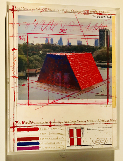 Christo and Jeanne-Claude Barrels and The Mastabas 1958-2018